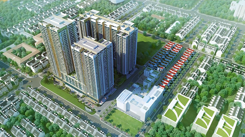 Phối cảnh chung cư Imperia Sky Garden 423 Minh Khai