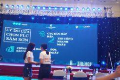 Chính thức ra mắt dự án FLC Grand Hotel Sầm Sơn tại Daewoo Hotel