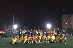 Trận bóng giao hữu chuẩn bị cho các giải đấu lớn của Newhomes FC