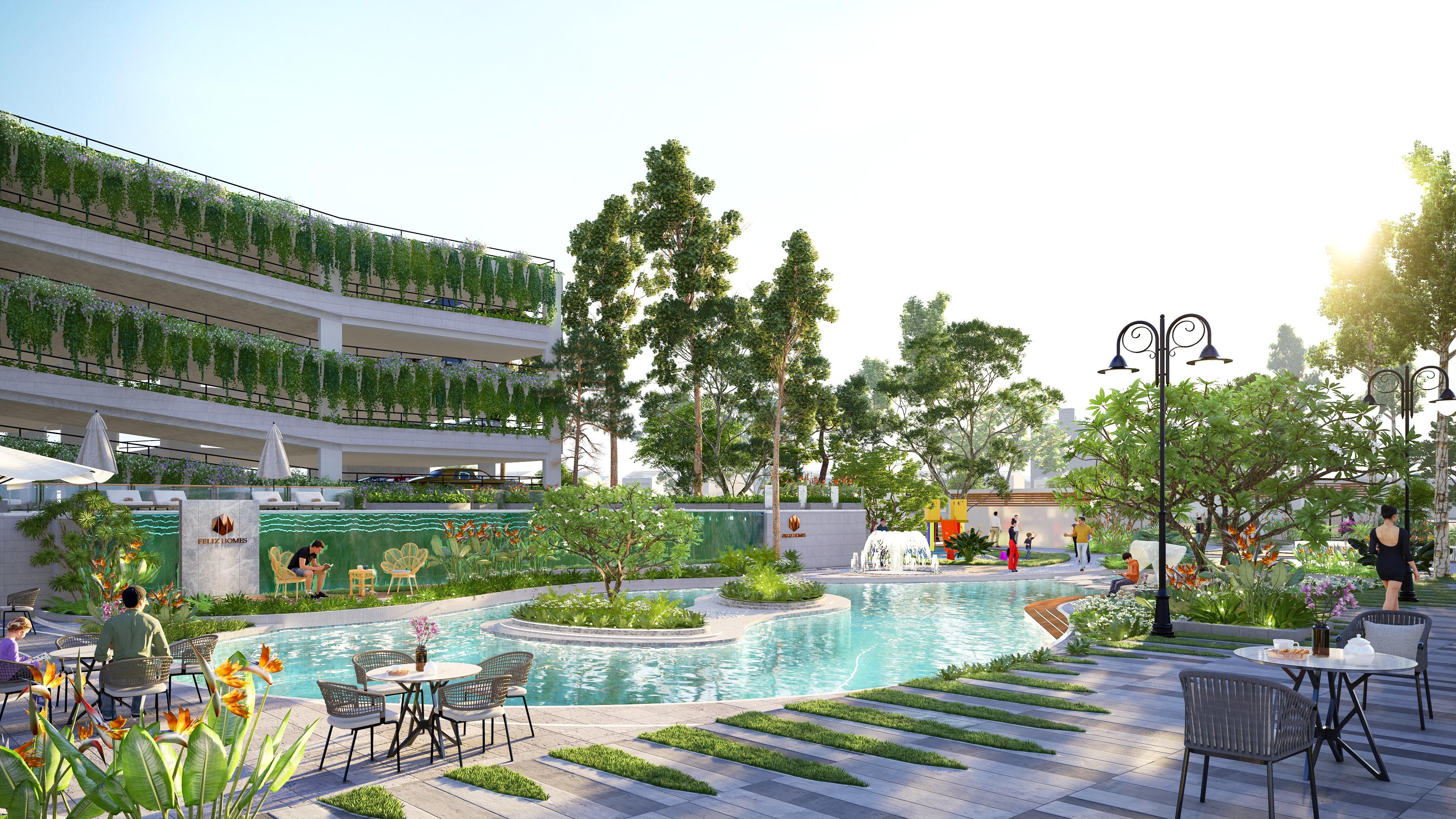 dự án chung cư Feliz Homes Hoàng Mai